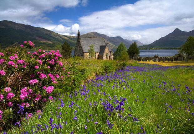 природа шотландии фото